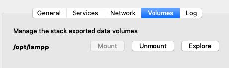 Mountを押すとIPアドレス名でシステムにマウントされるのでlampp>htdocs内に先程のDrupalデータを解凍して設置します。フォルダ名は「drupal-8.x.x」みたいになっていますが「drupal_firststep」に変更しました。